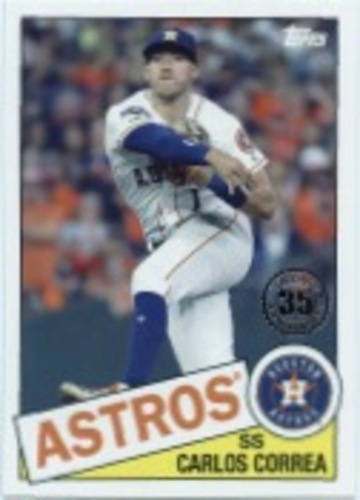 Photo of 2020 Topps '85 Topps Series 2 #85TB19 Carlos Correa