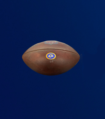 Rams Game Used Football - (10/4/2020 VS. New York Giants)