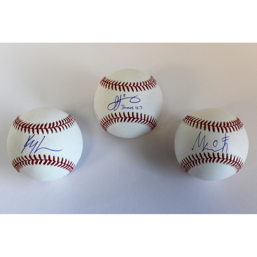 Mariners Care: Autographed Baseball Collection of 2020 Mariners Outfielders