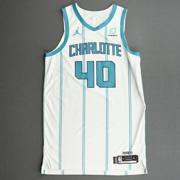 Image of Cody Zeller - Charlotte Hornets - Kia NBA Tip-Off 2020 - Game-Worn Association Edition Jersey
