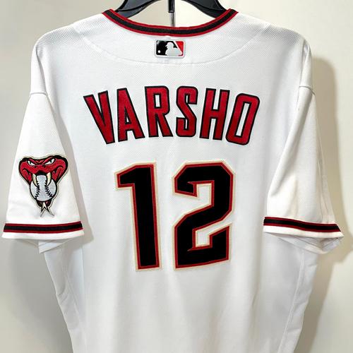 Photo of Daulton Varsho 2021 Team Issued Nike Jersey