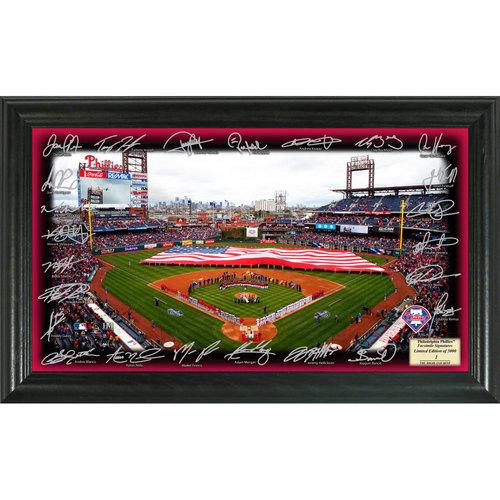 Serial #1! Philadelphia Phillies 2017 Signature Field