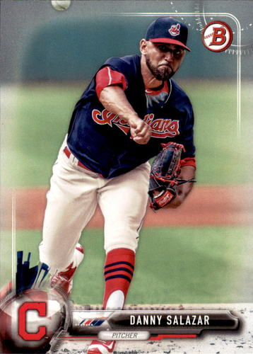 Photo of 2017 Bowman #93 Danny Salazar