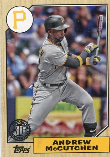 Photo of 2017 Topps '87 Topps #8784 Andrew McCutchen