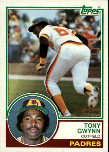 Photo of 1983 Topps #482 Tony Gwynn Rookie Card