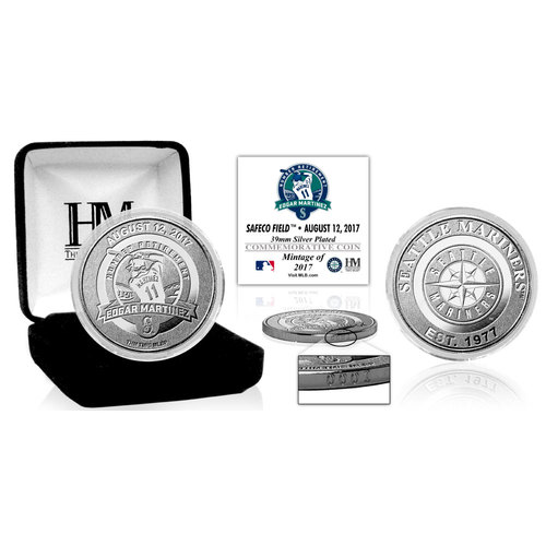 Photo of Edgar Martinez Number Retirement Silver Mint Coin