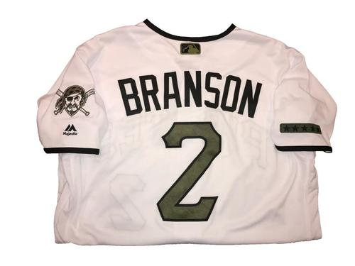 Jeff Branson Game-Used Memorial Day Weekend Jersey