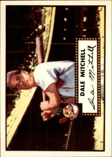 Photo of 1983 Topps 1952 Reprint #92 Dale Mitchell