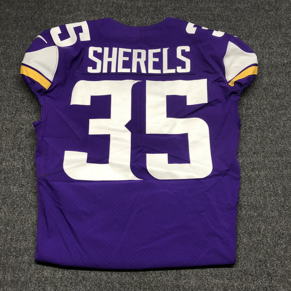 quality design 841b8 4346c NFL Auction | LONDON GAMES - VIKINGS MARCUS SHERELS GAME ...