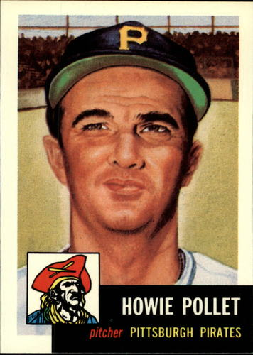 Photo of 1991 Topps Archives 1953 #83 Howie Pollet