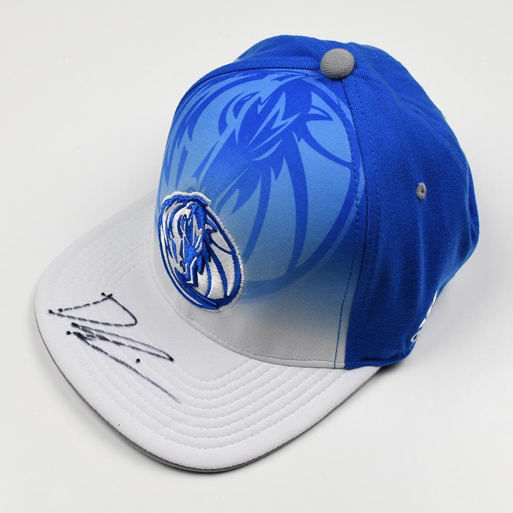 Dennis Smith Jr - Dallas Mavericks - 2017 NBA Draft - Autographed Hat