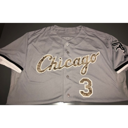 Photo of Harold Baines Team-Issued Military Appreciation Day Jersey - Size 50