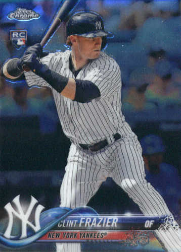 Photo of 2018 Topps Chrome #148 Clint Frazier RC