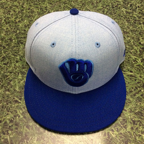 Photo of Orlando Arcia 2018 Game-Used Father's Day Cap