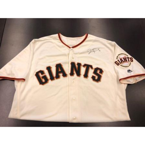 Photo of Giants Community Fund: Joe Panik Autographed Jersey