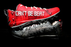 MY CAUSE MY CLEATS - NEW ENGLAND PATRIOTS REX BURKHEAD SIGNED AND GAME WORN CUSTOM CLEATS
