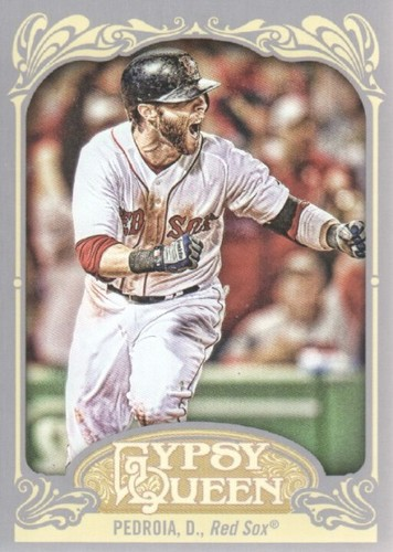 Photo of 2012 Topps Gypsy Queen #143A Dustin Pedroia