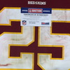 Crucial Catch - Redskins Chris Thompson game worn Redskins Jersey (October 15, 2017) Size 40