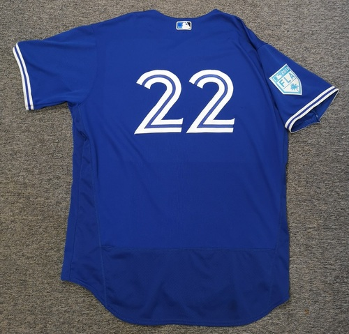 Photo of Authenticated Team Issued 2019 Spring Training Jersey - #22 David Paulino. Size 52