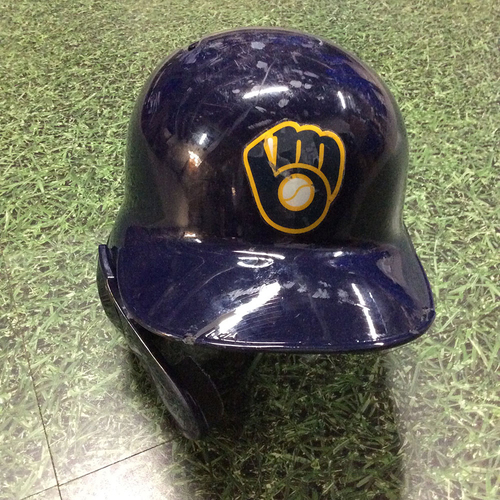 Photo of Eric Thames 2019 Game-Used Batting Helmet