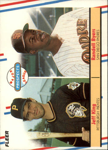 Photo of 1988 Fleer #653 Jeff King/Randell Byers RC