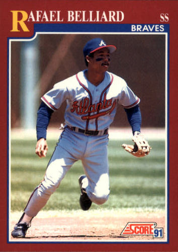 Photo of 1991 Score Rookie/Traded #76T Rafael Belliard