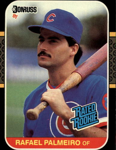 Photo of 1987 Donruss #43 Rafael Palmeiro RC