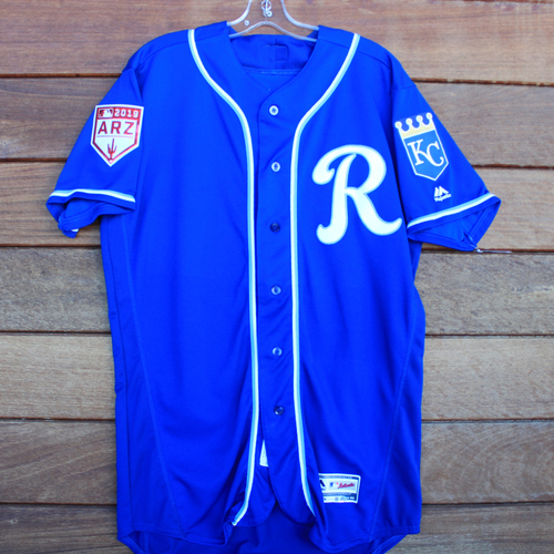 Photo of Game-Used Jersey: Connor Greene (Size 44 KC vs COL 2/25/19)