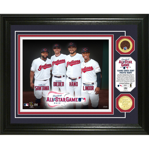 Photo of Cleveland Indians 2019 All-Star Game Teammates