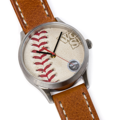 Photo of Tokens & Icons Boston Red Sox 2013 World Series Game Used Baseball Watch W/ Marks - Game 2