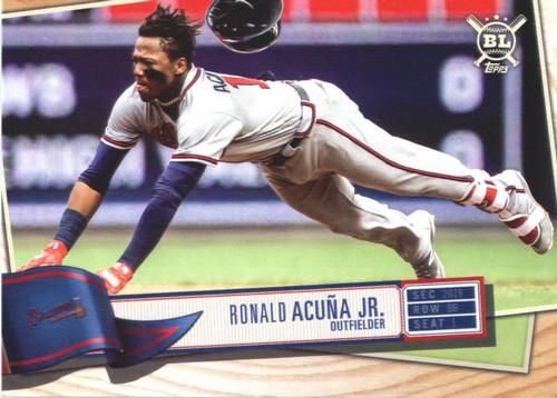 Photo of 2019 Topps Big League #50 Ronald Acuna Jr.