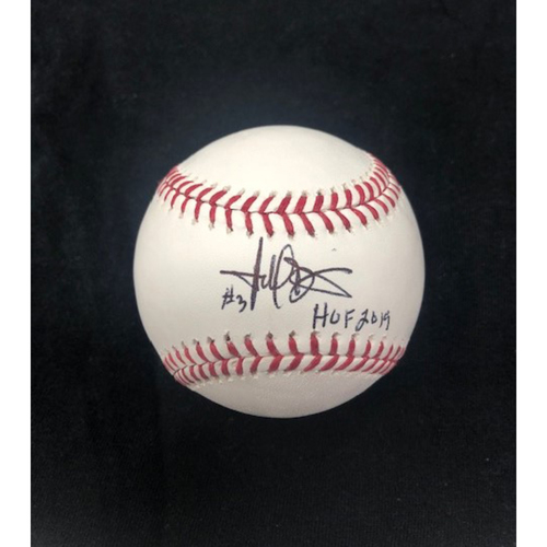 Photo of Harold Baines Autographed Baseball