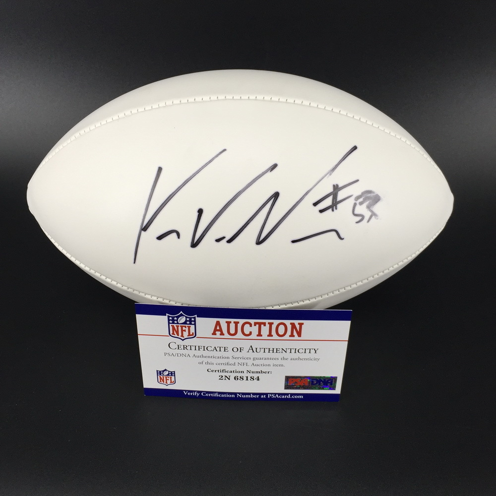 Patriots - Kyle Van Noy Signed Panel Ball
