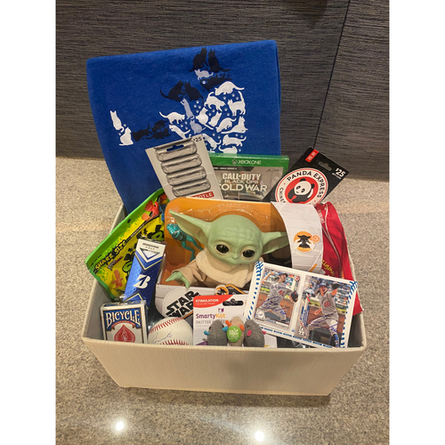 Photo of Tony Gonsolin Favorite Things Basket