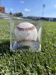 Photo of Yogi Berra Signed Baseball