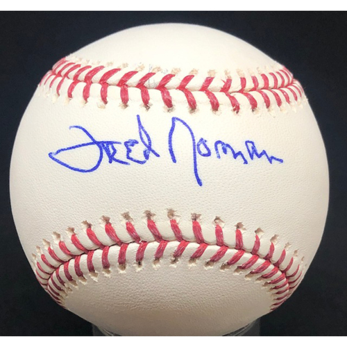 Photo of Fred Norman -  Autographed Official Major League Baseball