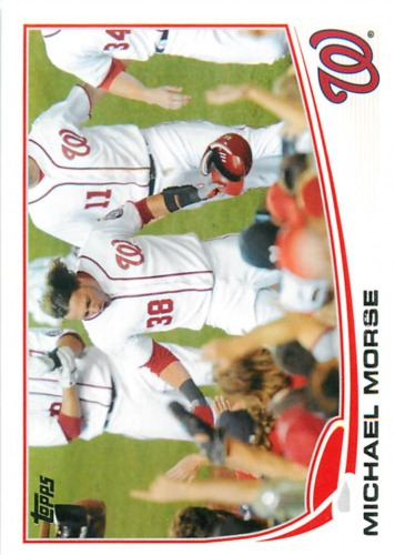 Photo of 2013 Topps #138 Michael Morse
