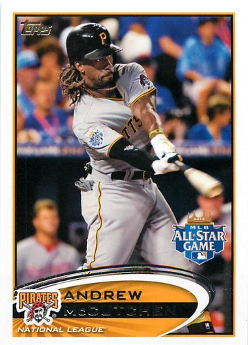 Photo of 2012 Topps Update #US87A Andrew McCutchen