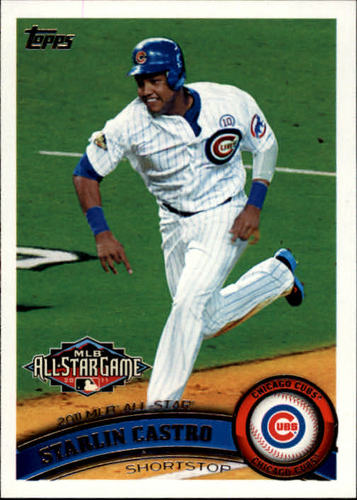 Photo of 2011 Topps Update #US249A Starlin Castro