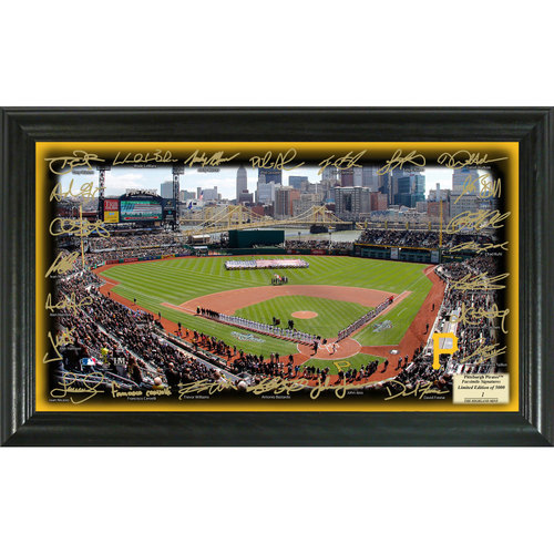 Serial #1! Pittsburgh Pirates 2017 Signature Field