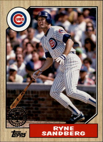 Photo of 2017 Topps '87 Topps #8785 Ryne Sandberg