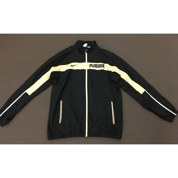 Photo of Purdue Men's Basketball Nike Full Zip Travel Jacket With Pockets Size XXL