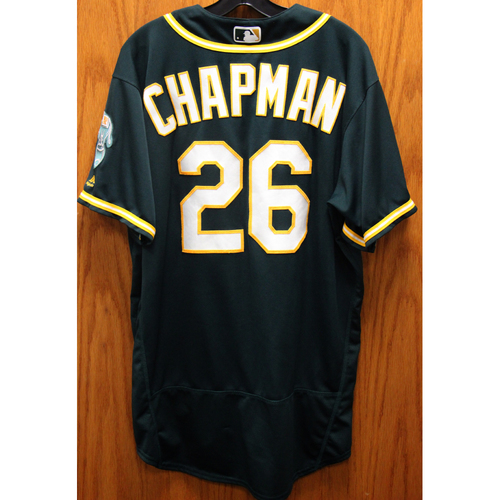 2017 Matt Chapman Game-Used Jersey