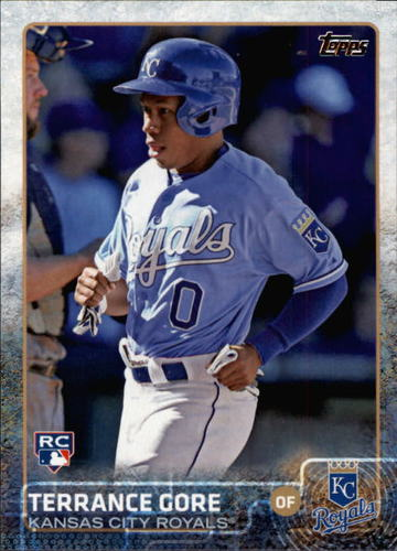 Photo of 2015 Topps #617 Terrance Gore RC