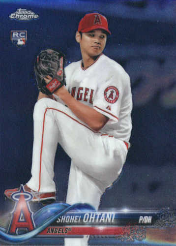 Photo of 2018 Topps Chrome #150 Shohei Ohtani RC