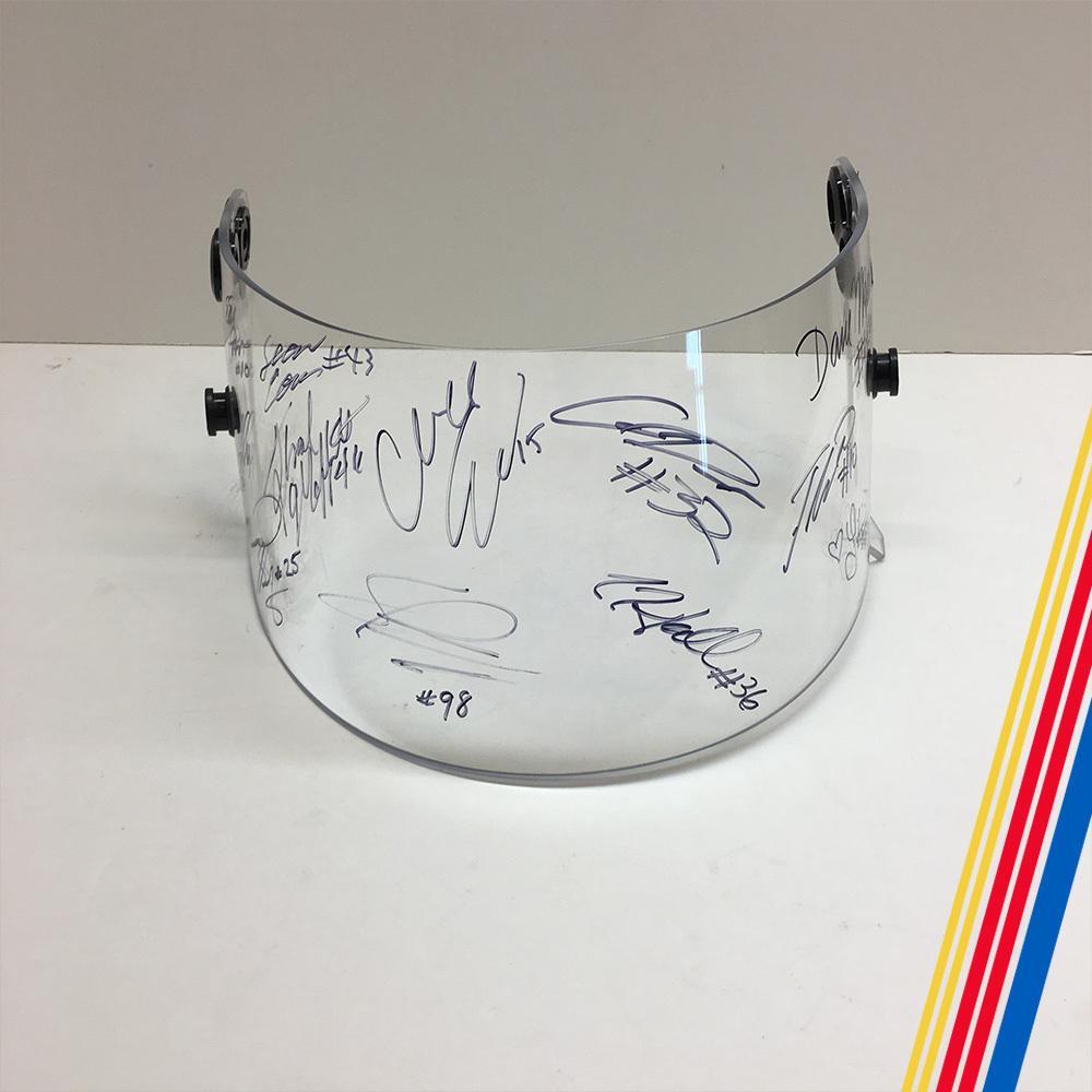 2019 ARCA drivers autographed visor!