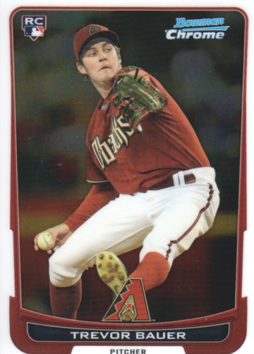 Photo of 2012 Bowman Chrome #173 Trevor Bauer RC