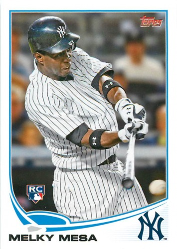Photo of 2013 Topps #231 Melky Mesa RC