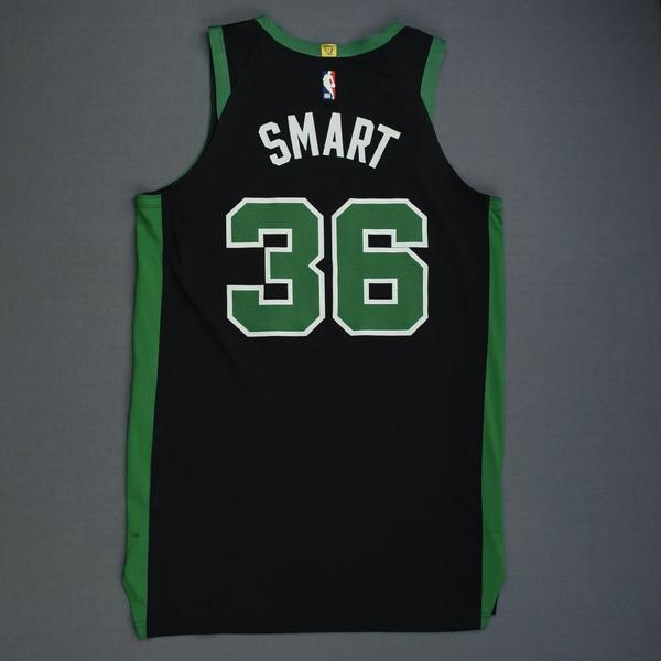promo code 07558 13fb5 Marcus Smart - Boston Celtics - 2019 NBA Playoffs - Game ...