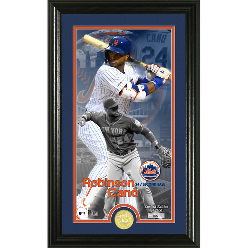 Photo of Robinson Cano Supreme Bronze Coin Photo Mint